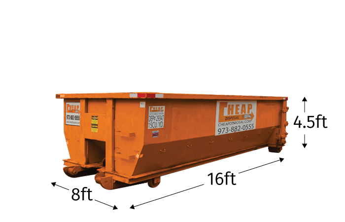 Bergen County Waste Container Rental
